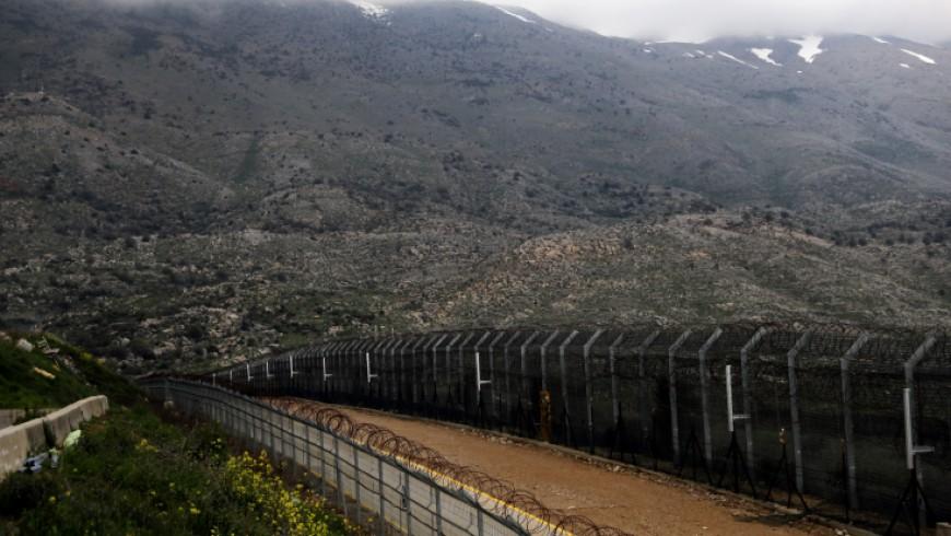خط وقف إطلاق النار بين سوريا وإسرائيل ـ رويترز